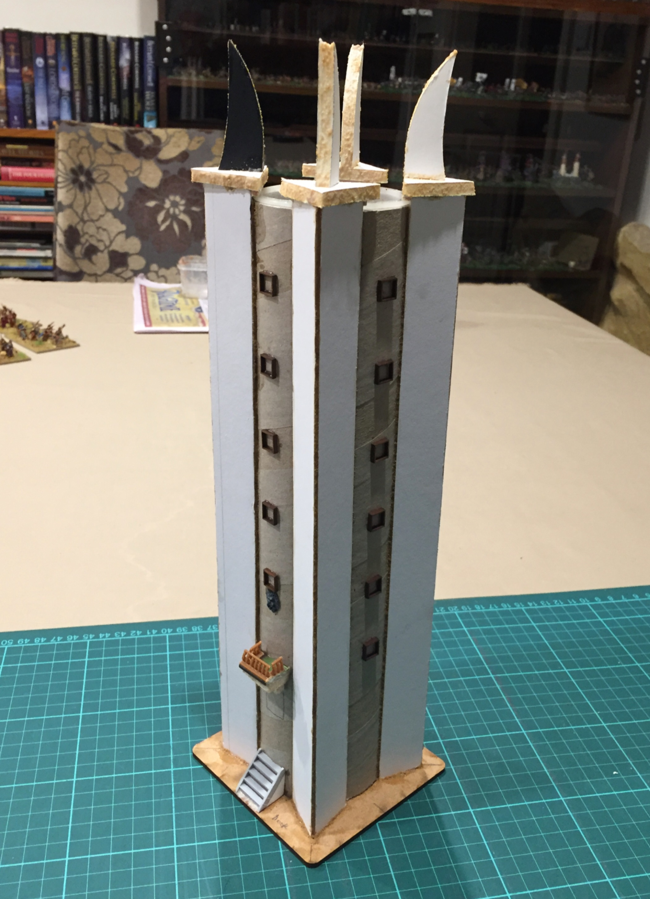 Tower of Orthanc - 3 - detailing added